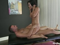 Rampant Asa Akira is rutted up her dripping cunt
