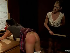 Kinky Felony spanks a attractive Adriana Luna's ass cheeks