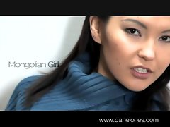 DaneJones Mongolian lady with attractive body masturbates