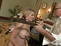 Maid Angela Attison bites off more than she can chew