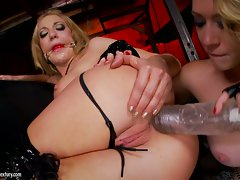 Saucy Kagney Karter torments Amy Brooke's tough bum