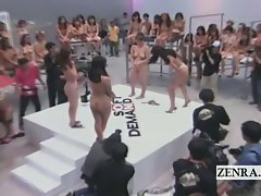 Subtitled wild Sensual japanese ENF rock paper scissors game