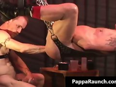 Raunchy filthy kinky attractive body gay fellow gets part3
