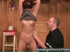 Sexual attractive raunchy redhead filthy girl gets part4