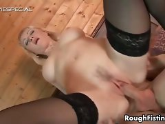 Raunchy light-haired hussy goes wild fellatio part4