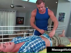 Attractive oily massage makes this gay alluring part1