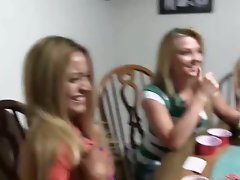 18yo coeds banging on poker night