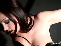 Cool dark haired honey Aria Giovanni part1
