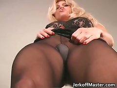 Amazing blondie Filthy bitch with excellent body part1