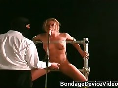 Sensual attractive excellent body lady gets bondage part3