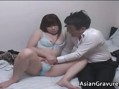 Filthy asian home teacher with big boobies part3