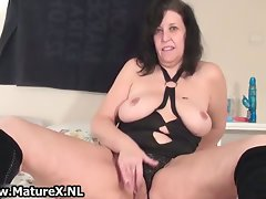 Older attractive momma in a sensual part3