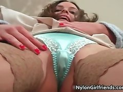 Filthy attractive cutie terrific body having fun part6