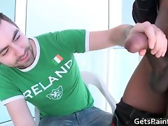 Intense interracial gay sex with luscious part6