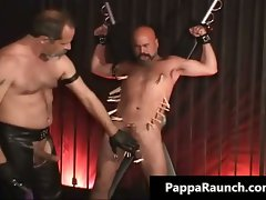 Filthy kinky gay gets bondage and gets part2