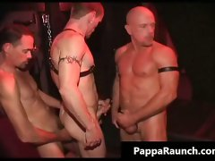 Sexual filthy kinky bondage gay orgy part2