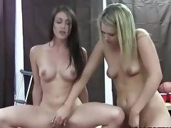 Two lewd slutty chicks extremely like getblowjob pecker