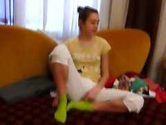 Homemade fuck partner Natasha at hotel