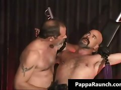 Filthy kinky gay gets bondage and gets part4