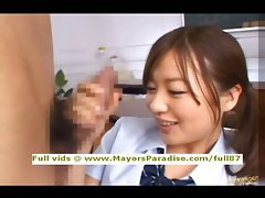 Miyu Hoshino innocent Chinese schoolgirl delights getting a brutal grinded