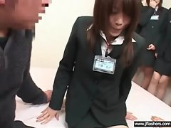 Sexual Jap Young woman Flashing And Banging clip-19