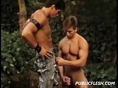 Retro Gay Muscles Hunks Dirty