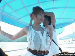 Luscious Seductive japanese Young lady Flashing And Screwing clip-08