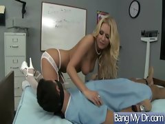 Pacient And Doctor Get Wild Banged clip-29