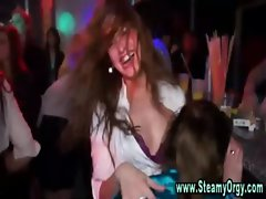 Watch cfnm girls party and suck prick