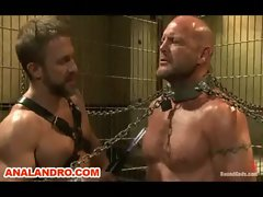 Chad Brock is Tied Up, Zapped, Caned and BDSM in the Prison