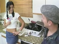 First time sizzling teen rectal date