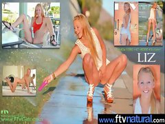 Sexual Girlie Young lady Love Masturbating Everywhere clip-28