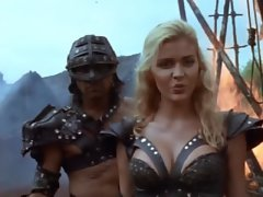 Hudson Leick Cleavage From Callisto The Sexiest Warrior