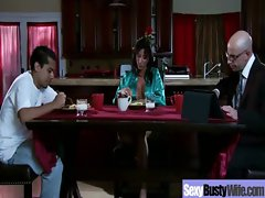 Sensual Buxom Mother Get Wild Bang Activity movie-18