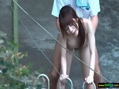 Outdoor Dirty Sex Love Asian Sexual Cutie movie-08