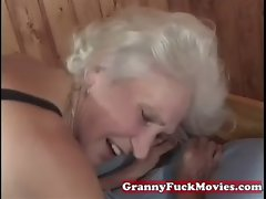 experienced granny snatch poked