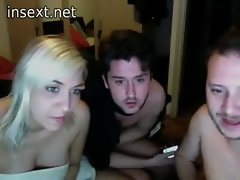Italian webcam crazy threesome action