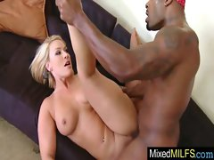 Luscious Top heavy Mum Grinding Xxl ebony cock movie-24