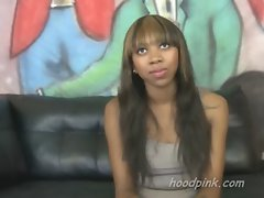 Black seductive teen needs cash for rent the easiest way is to sell her body to white men