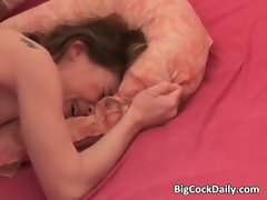 Shaft starving hussy needs one extremely big cock