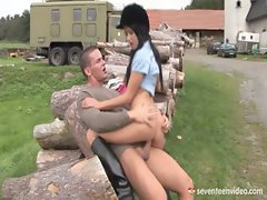 Angelica Screws Her Riding Instructor
