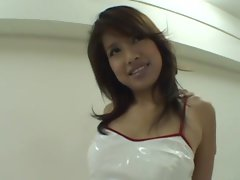 avmost.com - Asian mommy in latex bends over and gobble her man&#039_s boner