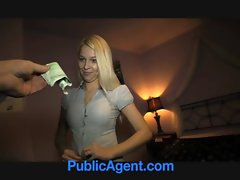 PublicAgent Charming blonde, charming reality sex