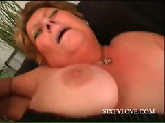 Aged hoe gets snatch fucked wild