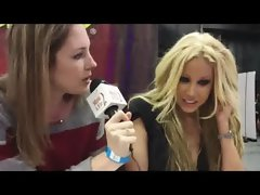 Attractive Mommy Penthouse Pet Award Winning Adult Star Gina Lynn Interviewed at AVN Awards