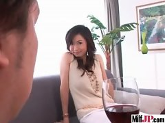 Alluring Asian Cougar Get Lewd Sex Play video-22