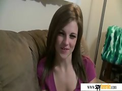 Sensual Seductive teen Lady Get Filmed During Sex video-20