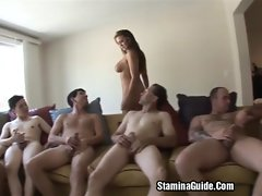 Group Sex For Trina Michael And Got A Facial