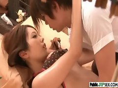 Public Filthy Sex Act With Tempting Sensual japanese Lass video-08