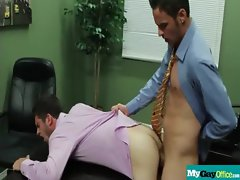 The Gay Office - Gay Backdoor Sex &amp_ Dick Massage Movie 11